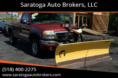2004 GMC Sierra 2500HD for sale at Saratoga Auto Brokers, LLC in Wilton NY