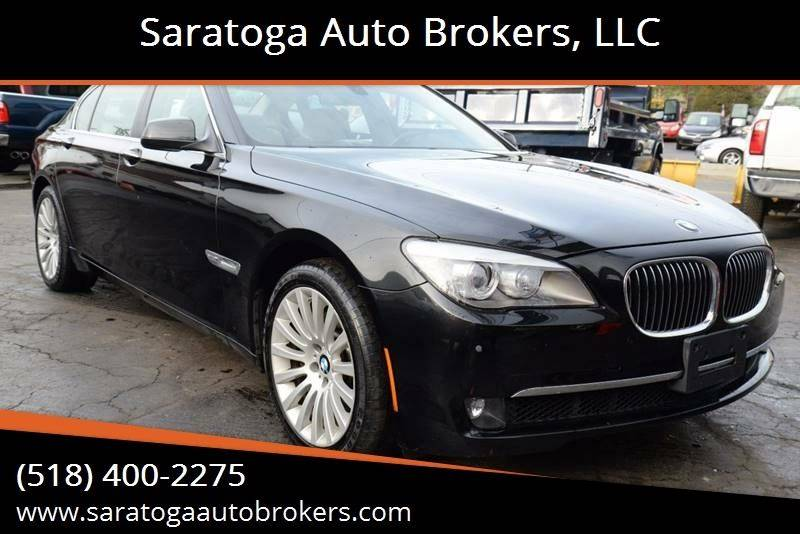 2012 BMW 7 Series for sale at Saratoga Auto Brokers, LLC in Wilton NY