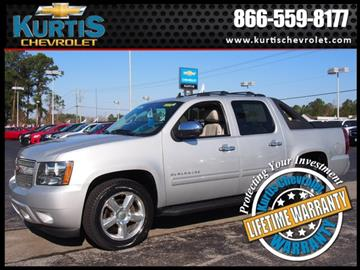 2012 Chevrolet Avalanche for sale in Morehead City, NC