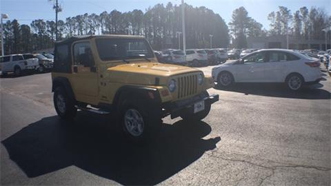 2006 Jeep Wrangler for sale in Morehead City, NC