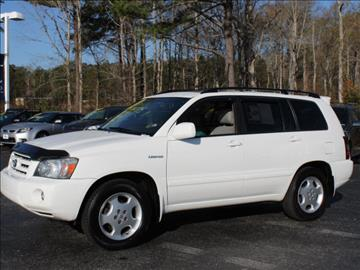 2005 Toyota Highlander for sale in Morehead City, NC