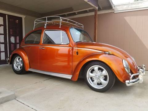 1965 Volkswagen Beetle for sale at E and M Auto Sales in Bloomington CA