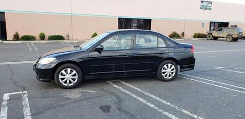 2005 Honda Civic for sale in Bloomington, CA