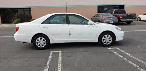2006 Toyota Camry for sale at E and M Auto Sales in Bloomington CA