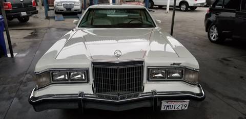 1977 Mercury Cougar for sale at E and M Auto Sales in Bloomington CA