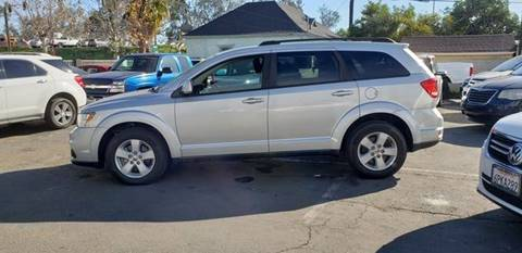 2012 Dodge Journey for sale at E and M Auto Sales in Bloomington CA