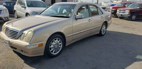 2002 Mercedes-Benz E-Class for sale at E and M Auto Sales in Bloomington CA