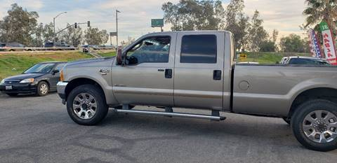 2004 Ford F-250 Super Duty for sale at E and M Auto Sales in Bloomington CA