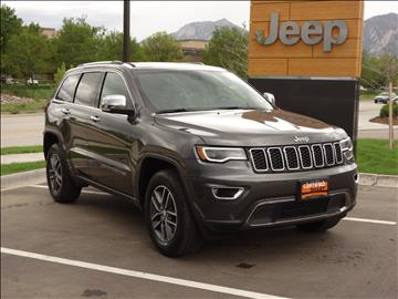 2017 Jeep Grand Cherokee for sale in Boulder, CO