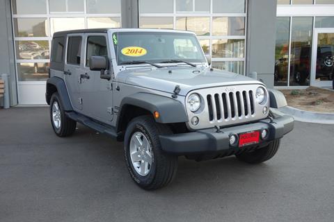 2014 Jeep Wrangler Unlimited for sale in Boulder CO