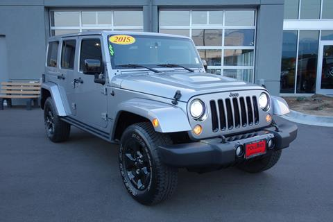 2015 Jeep Wrangler Unlimited for sale in Boulder CO