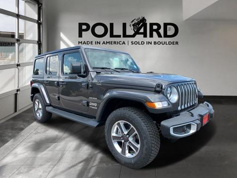 2020 Jeep Wrangler Unlimited for sale in Boulder, CO