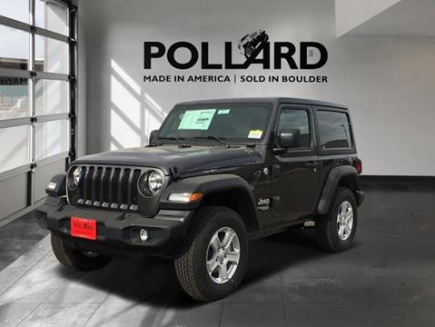 2020 Jeep Wrangler for sale in Boulder, CO