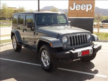 2014 Jeep Wrangler Unlimited for sale in Boulder, CO