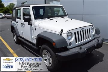2014 Jeep Wrangler Unlimited for sale in Dover, DE