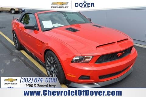 2010 Ford Mustang for sale in Dover, DE