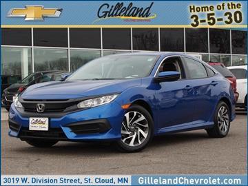 2016 Honda Civic for sale in Saint Cloud, MN