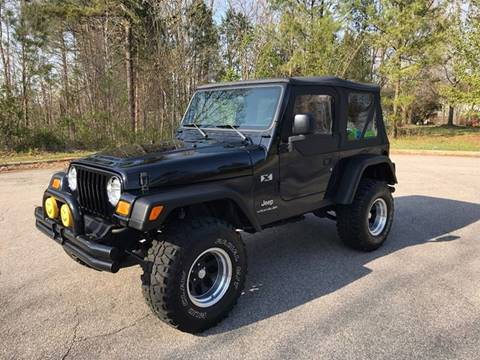 2003 Jeep Wrangler for sale in Raleigh, NC