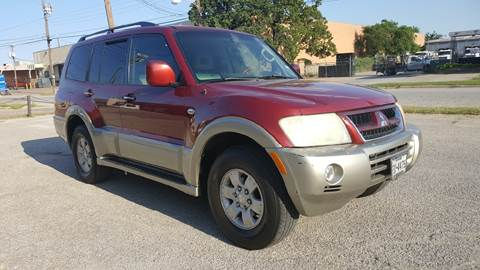 2003 Mitsubishi Montero for sale in Dallas, TX