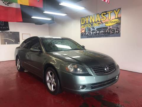 2005 Nissan Altima for sale at Dynasty Auto in Dallas TX