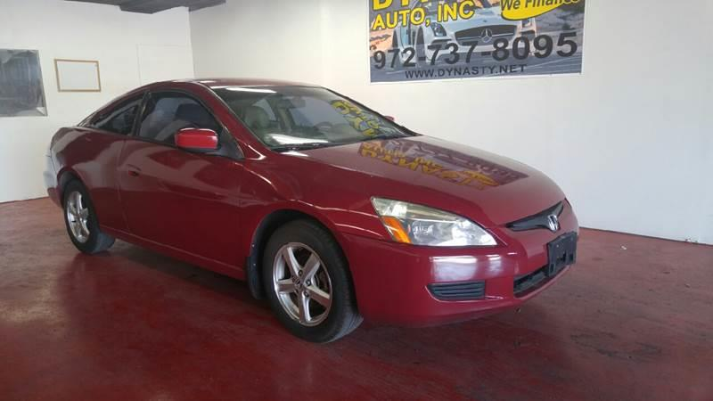 Awesome 2005 Honda Accord For Sale At Dynasty Auto In Dallas TX