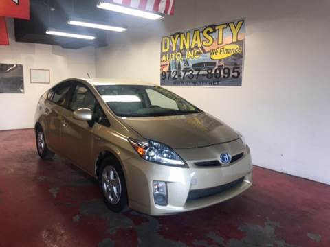 2010 Toyota Prius for sale at Dynasty Auto in Dallas TX