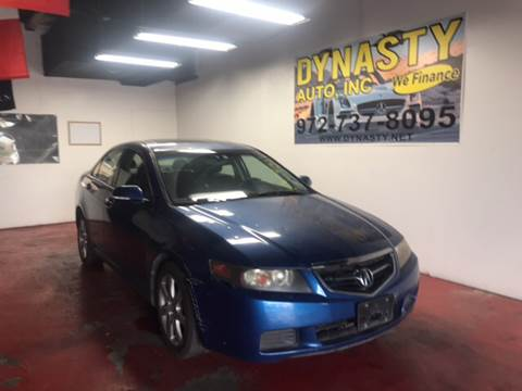 2004 Acura TSX for sale at Dynasty Auto in Dallas TX