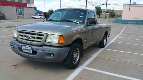 2003 Ford Ranger for sale at Dynasty Auto in Dallas TX
