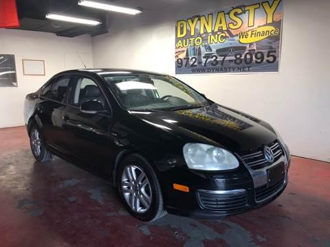 2007 Volkswagen Jetta for sale at Dynasty Auto in Dallas TX