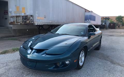 1999 Pontiac Firebird for sale at Dynasty Auto in Dallas TX