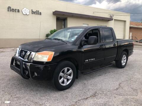 2009 Nissan Titan for sale at Dynasty Auto in Dallas TX