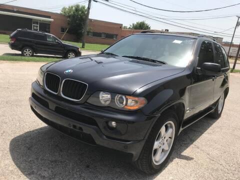 2006 BMW X5 for sale at Dynasty Auto in Dallas TX
