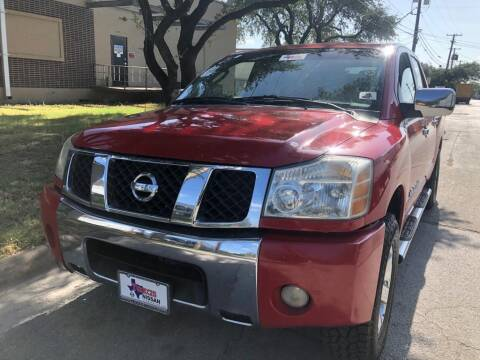 2006 Nissan Titan for sale at Dynasty Auto in Dallas TX