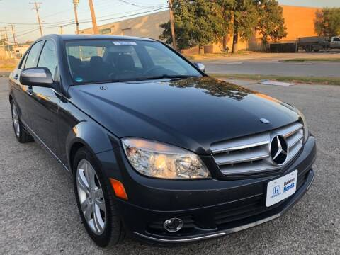 2008 Mercedes-Benz C-Class for sale at Dynasty Auto in Dallas TX