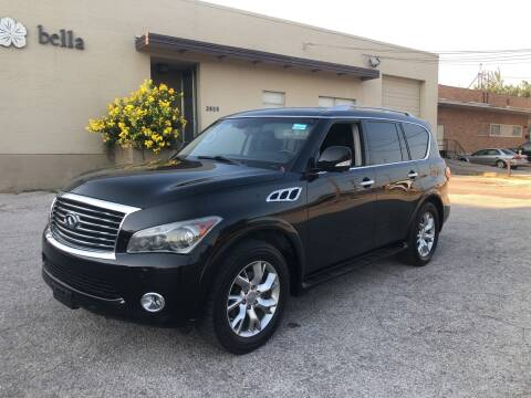 2011 Infiniti QX56 for sale at Dynasty Auto in Dallas TX