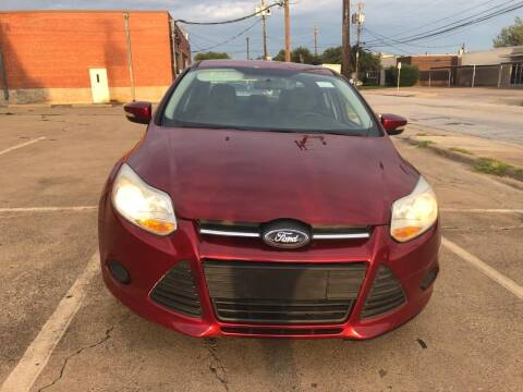 2014 Ford Focus for sale at Dynasty Auto in Dallas TX
