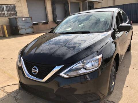 2019 Nissan Sentra for sale at Dynasty Auto in Dallas TX