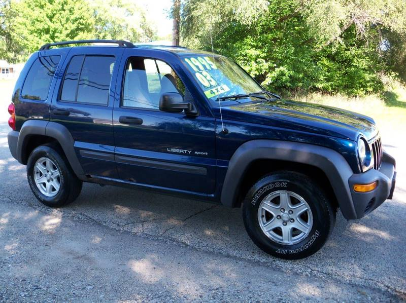2003 Jeep Liberty For Sale At Rose Auto Sales U0026 Motorsports Inc In Mchenry  IL