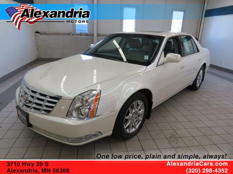 2010 Cadillac DTS for sale in Alexandria, MN