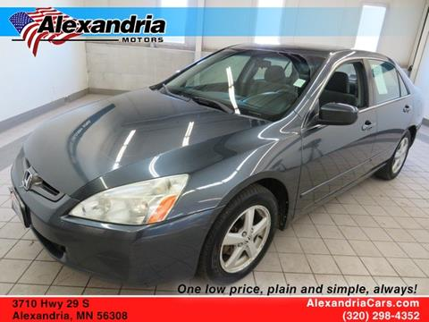 Exceptional 2005 Honda Accord For Sale In Alexandria, MN