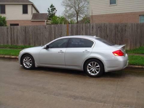 2008 Infiniti G35 for sale in Houston, TX
