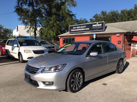 2014 Honda Accord for sale at Prime Auto Solutions in Orlando FL