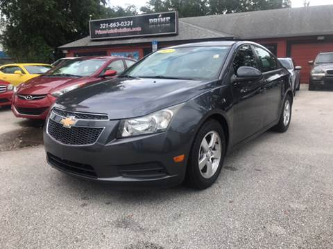 2013 Chevrolet Cruze for sale at Prime Auto Solutions in Orlando FL