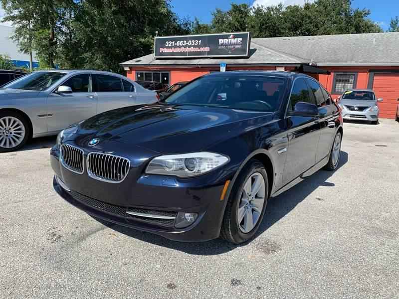 2013 BMW 5 Series for sale at Prime Auto Solutions in Orlando FL