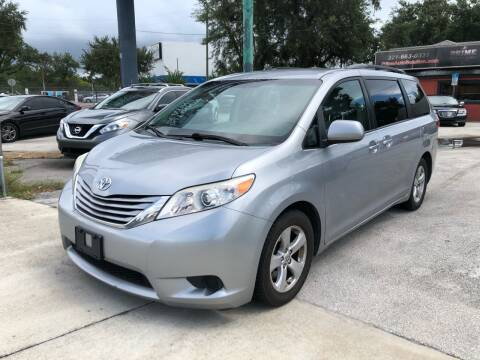 2015 Toyota Sienna for sale at Prime Auto Solutions in Orlando FL