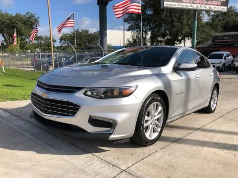 2016 Chevrolet Malibu for sale at Prime Auto Solutions in Orlando FL