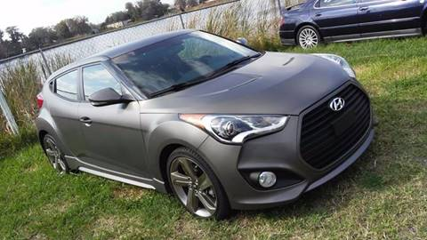 2014 Hyundai Veloster Turbo for sale at Prime Auto Solutions in Orlando FL
