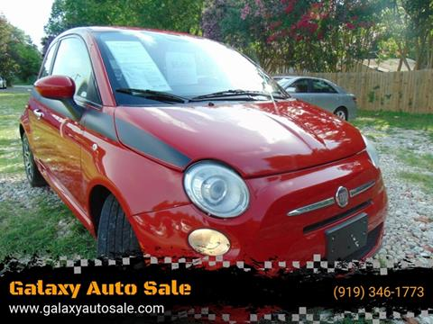 2012 FIAT 500 for sale in Fuquay Varina, NC