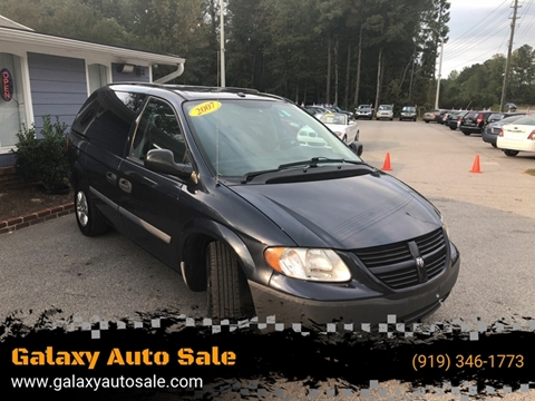 2007 Dodge Caravan for sale in Fuquay Varina, NC