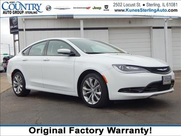 2015 Chrysler 200 for sale in Sterling, IL